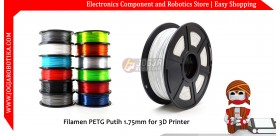 Filamen PETG Putih 1.75mm for 3D Printer