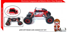 4WD OFF-ROAD CAR CHASSIS KIT DIY
