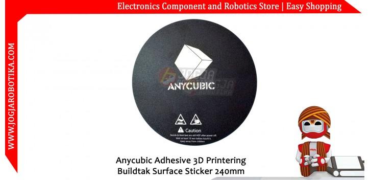 Anycubic Adhesive 3D Printering Buildtak Surface Sticker 240mm
