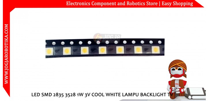 LED SMD 2835 3528 1W 3V COOL WHITE LAMPU BACKLIGHT TV