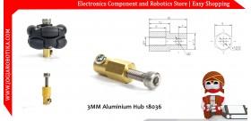 3MM Aluminium Hub 18036