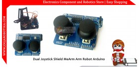 Dual Joystick Shield MeArm Arm Robot Arduino