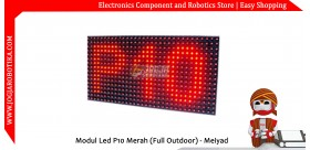 Modul Led P10 Merah (Full Outdoor) - Meiyad