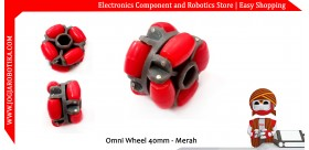 Omni Wheel 40mm - Merah