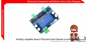 XH-M572 Amplifier Board TPA3116D2 Dual Channel 2x120W