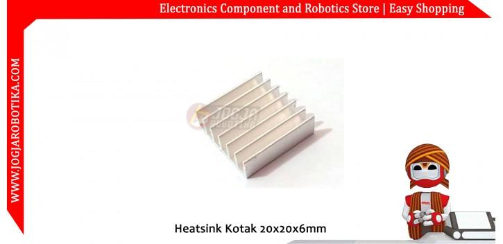 Heatsink Kotak 20x20x6mm