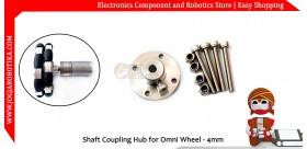 Shaft Coupling Hub for Omni Wheel - 4mm
