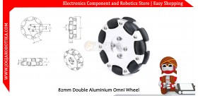 82mm Double Aluminium Omni Wheel