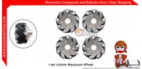 1 set 127mm Mecanum Wheel