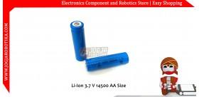 Li-Ion 3.7 V 14500 AA Size