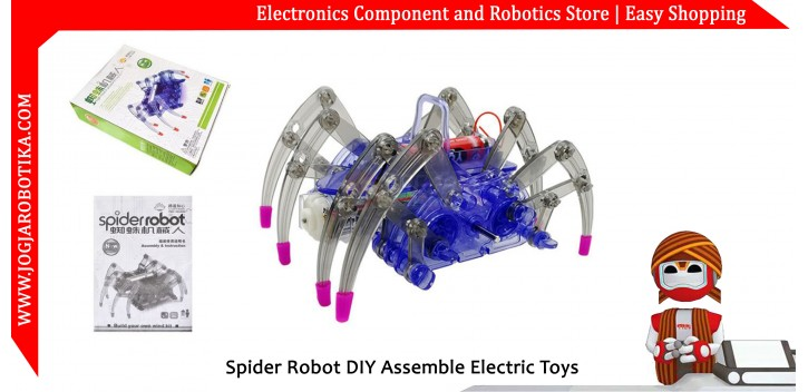 Spider Robot DIY Assemble Electric Toys