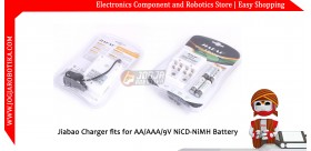 Jiabao Charger fits for AA/AAA/9V NiCD-NiMH Battery