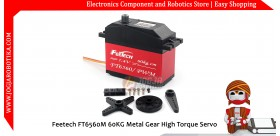 Feetech FT6560M 60KG Metal Gear High Torque Servo