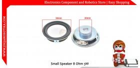 Small Speaker 8 Ohm 3W