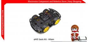 4WD Sasis Kit - Hitam