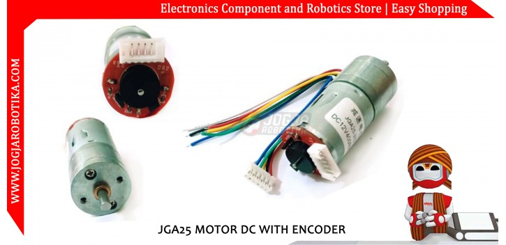 JGA25 Motor DC with Encoder