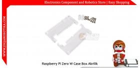 Raspberry Pi Zero W Case Akrilik