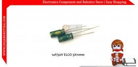 1uF/50V ELCO 5X11mm