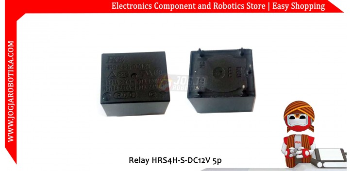 Relay HRS4H-S-DC12V 5p