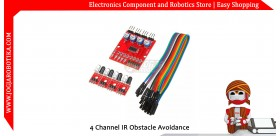 4 Channel IR Obstacle Avoidance