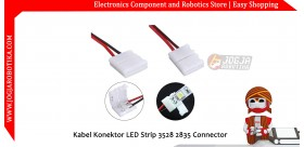 Kabel Konektor LED Strip 3528 2835 Connector