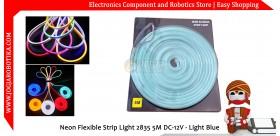 Led Neon Flexible Strip Light 2835 5M DC-12V - Ice Blue