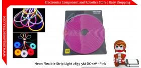 Neon Flexible Strip Light 2835 5M DC-12V - Pink