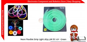 Neon Flexible Strip Light 2835 5M DC-12V - Green