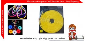 Neon Flexible Strip Light 2835 5M DC-12V - Yellow
