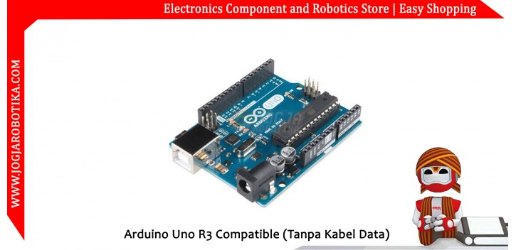 Arduino Uno R3 Compatible (Tanpa Kabel Data)