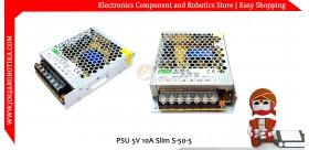 PSU 5V 10A Slim S-50-5