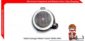 Kabel Gulung 6 Meter Yunior Wellto Mini