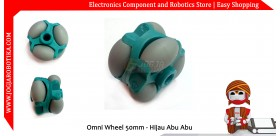 Omni Wheel 50mm - Hijau Abu Abu