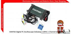 HANTEK Digital PC Oscilloscope Osiloskop 20MHz 2 Channel 6022BE
