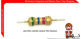 5K6 Ohm 1/4Watt Carbon Film Resistor
