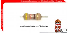 430 Ohm 1/4Watt Carbon Film Resistor