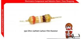 390 Ohm 1/4Watt Carbon Film Resistor