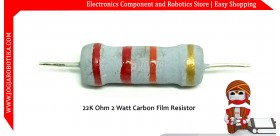 22K Ohm 2 Watt Carbon Film Resistor