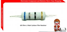 68 Ohm 2 Watt Carbon Film Resistor