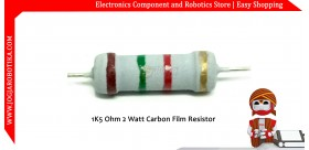 1K5 Ohm 2 Watt Carbon Film Resistor