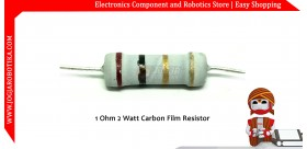 1 Ohm 2 Watt Carbon Film Resistor