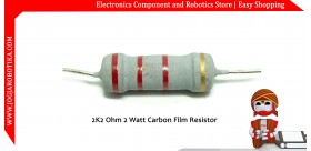 2K2 Ohm 2 Watt Carbon Film Resistor