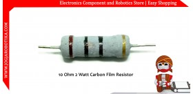 10 Ohm 2 Watt Carbon Film Resistor