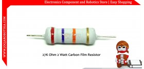 27K Ohm 2 Watt Carbon Film Resistor