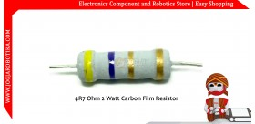 4R7 Ohm 2 Watt Carbon Film Resistor