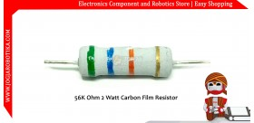 56K Ohm 2 Watt Carbon Film Resistor