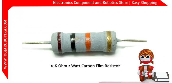 10K Ohm 2 Watt Carbon Film Resistor