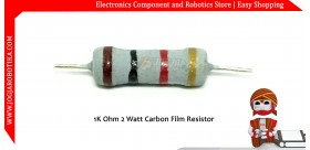 1K Ohm 2 Watt Carbon Film Resistor
