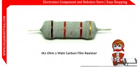 1K2 Ohm 2 Watt Carbon Film Resistor