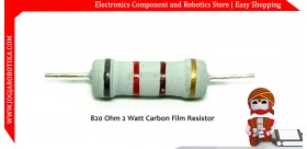 820 Ohm 2 Watt Carbon Film Resistor